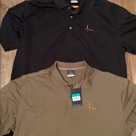 2 men's Nike polo shirts
